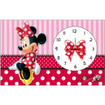 alarmklok Minnie Mouse meisjes 20