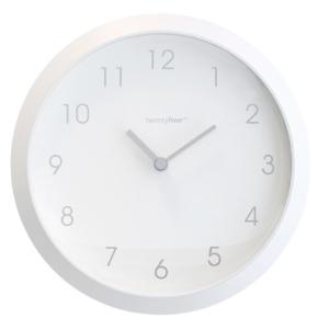 klok magnetisch 8 cm wit